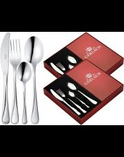GERLACH MANGO Sztućce 48 el pudełko / 12 osób / połysk / GRATIS Torba prezentowa