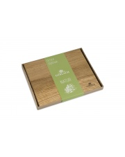 GERLACH NATUR Deska do krojenia 24x30 cm / drewno dębowe